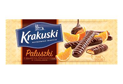 Packshot - Paluszki pomarańczowe