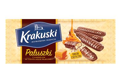 Packshot - Paluszki karmelowe